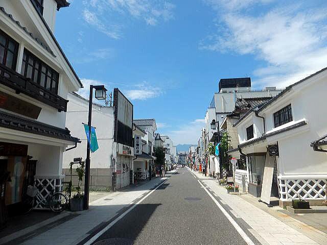 松本散策(中町通り、縄手通り)